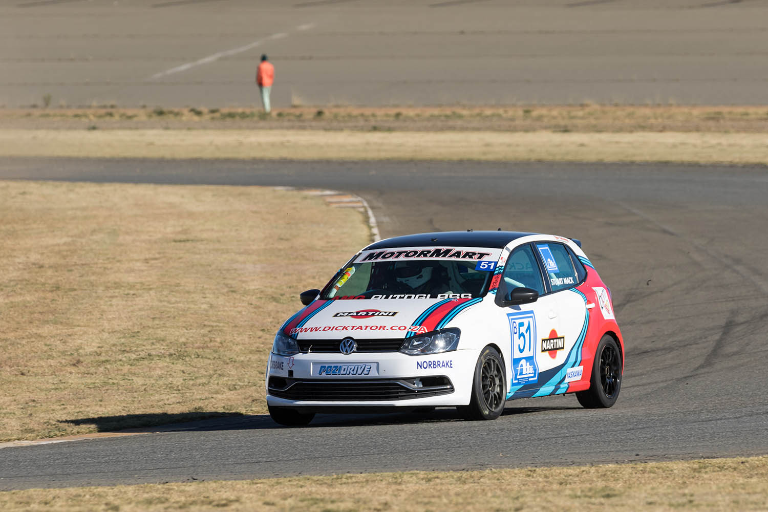 Stuart Mack took his newly acquired car to two podium finishes