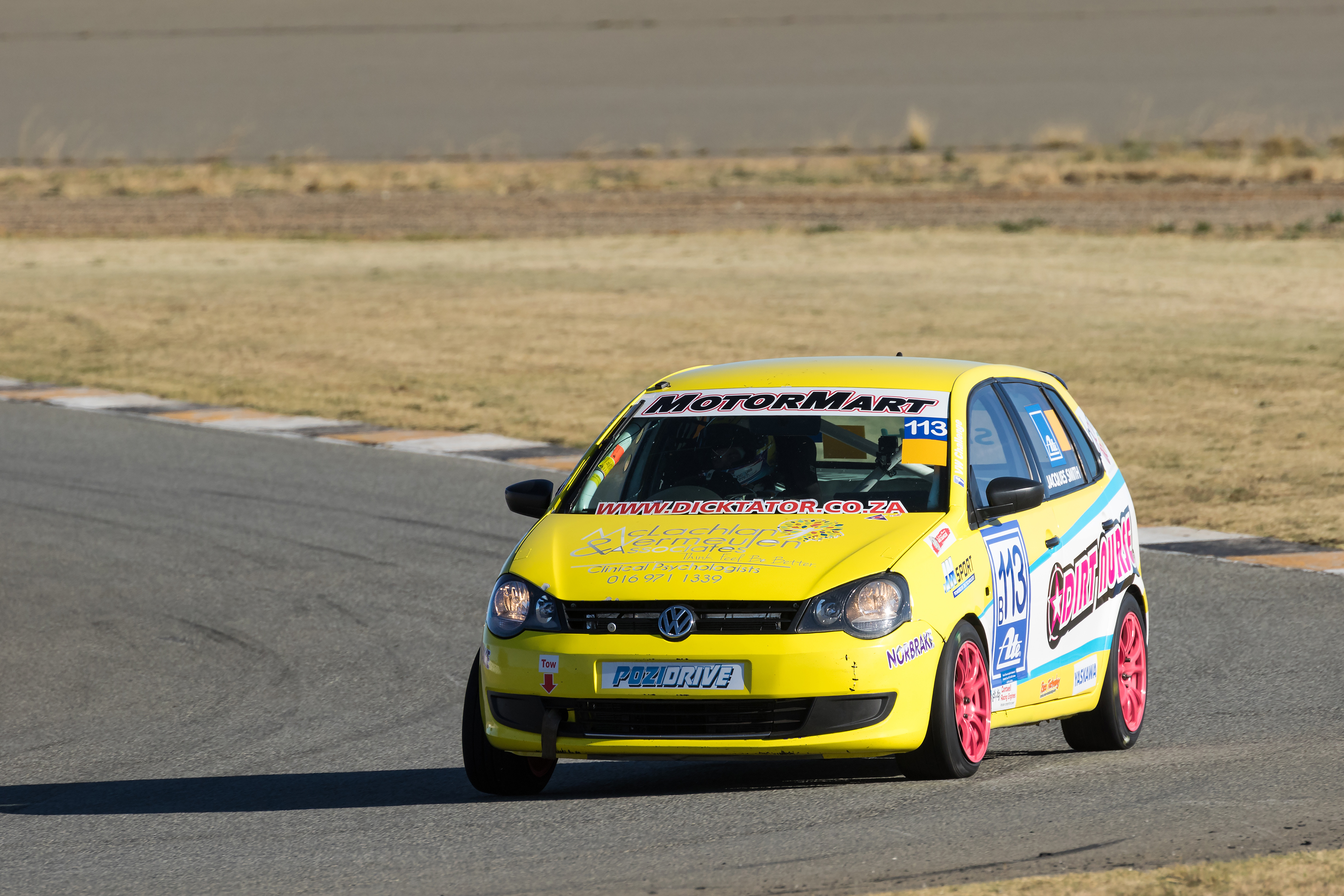 Jacques Smith leads the way in Class B
