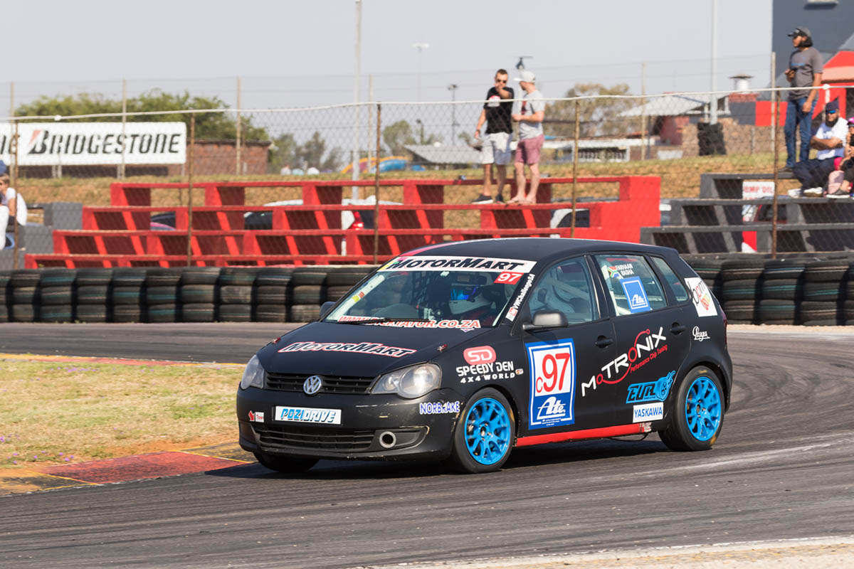 Farhaan Basha won both heats in Class C