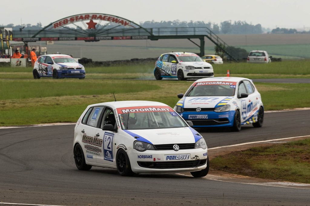 Stiaan Kriel leads the class B pack