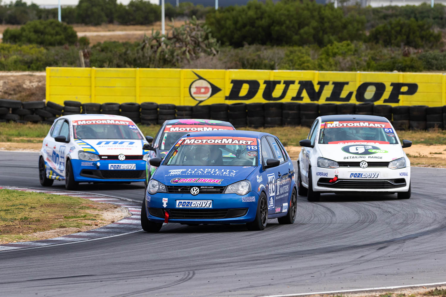 Jacques Smith leads the Class B pack